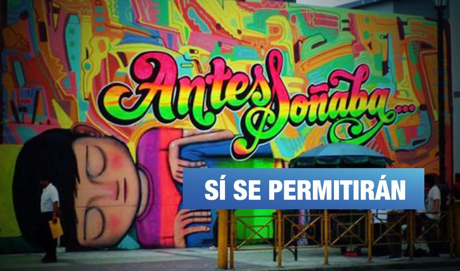 Murales y arte regresan al Centro de Lima