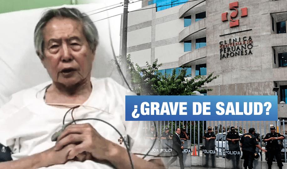 Alberto Fujimori lleva 96 días internado en una clínica