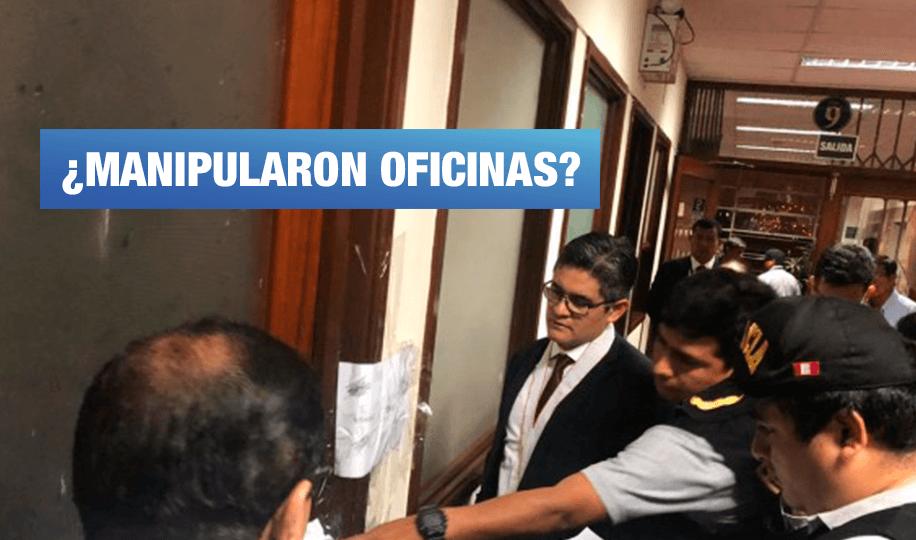 Al cierre: Allanan oficina de Juan Manuel Duarte, asesor de Pedro Chávarry