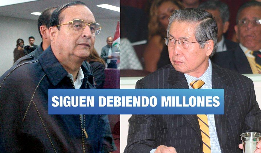 Los 15 sentenciados por corrupción que no han pagado ni la mitad de sus deudas por reparación civil