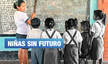 40% de niñas en zonas rurales abandonan el colegio