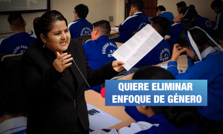Congresista Arimborgo asegura que enfoque de género causa «cáncer»