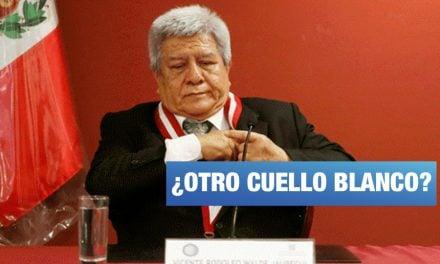 """Walde Jáuregui también le pidió """"favor"""" a César Hinostroza"""