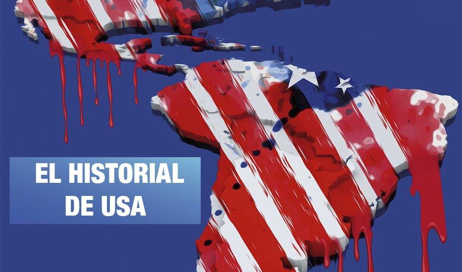 34 Crímenes de Estados Unidos en Latinoamérica