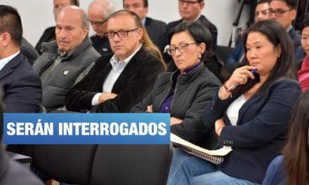 José Domingo Pérez alista nuevos interrogatorios contra cúpula fujimorista