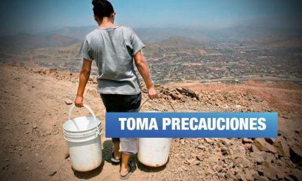 Escasez de agua en varios distritos de Lima: conoce aquí los motivos