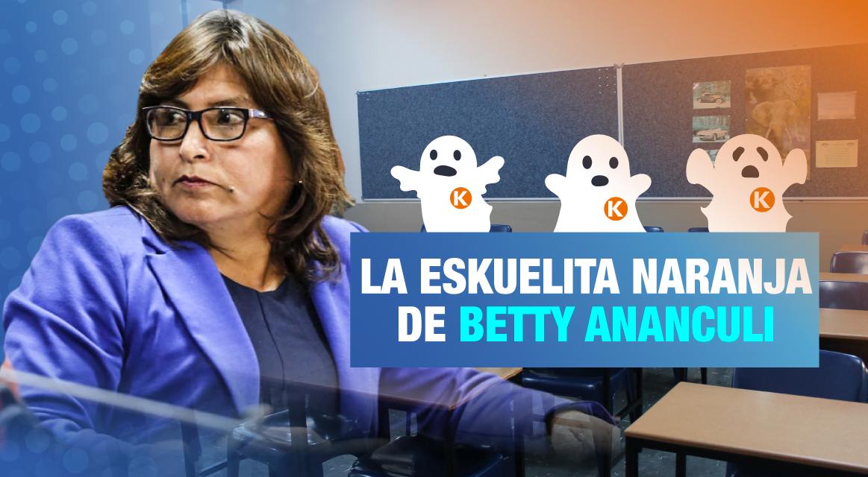 Los compañeros fantasmas de Betty Ananculi