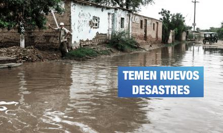 Piura: 5 distritos más afectados por El Niño se sienten desprotegidos
