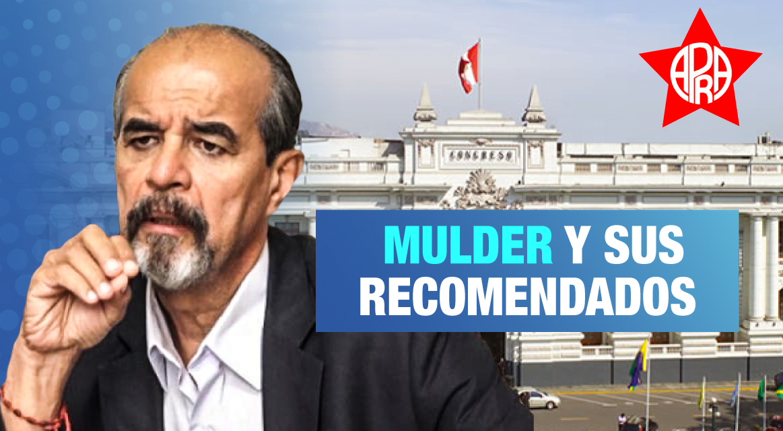 Los recomendados de Mulder con contratos irregulares en el Congreso