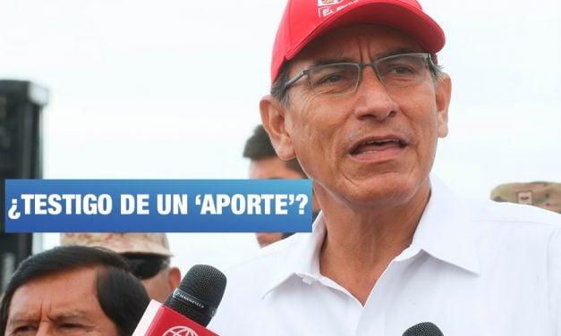 Club de la Construcción: colaborador eficaz señala a Vizcarra como testigo de aportes a PPK