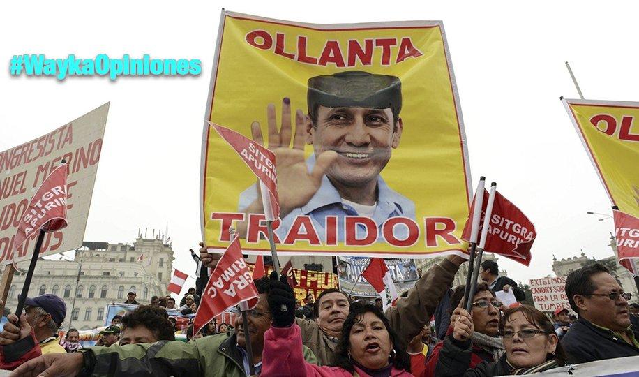 Ollanta «maduro» habla de «izquierda infantil», por Pedro Francke