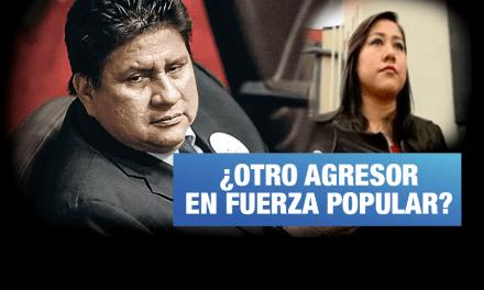 Nueva denuncia de violencia contra la mujer en Fuerza Popular