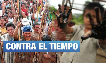 Loreto: Comunidades indígenas dan 20 días al Ejecutivo para responder a daño petrolero