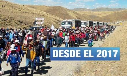 Gobierno amplía estado de emergencia en corredor minero del sur por quinta vez