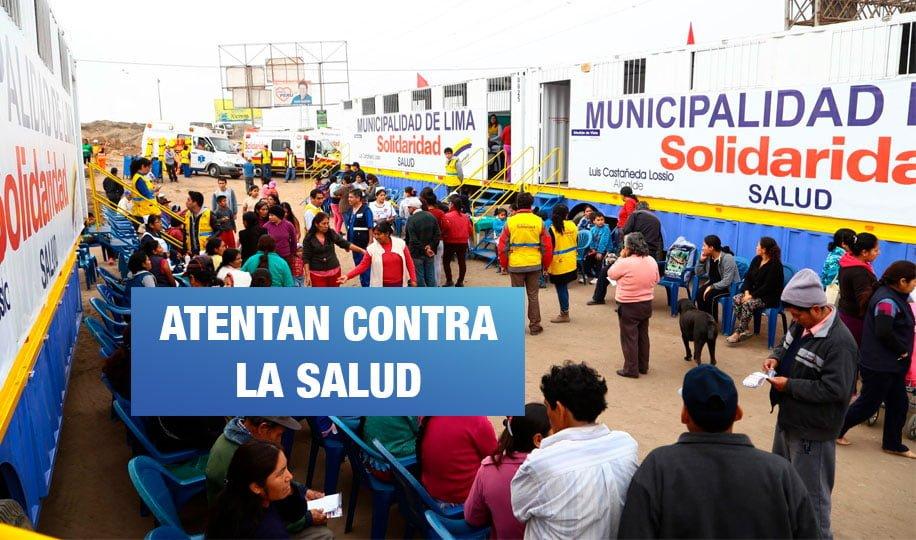 Hospital de la Solidaridad: Médicos reciben coimas por recetar 'productos naturales'