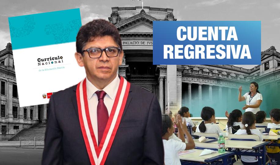 Currículo Escolar: Juez Omar Toledo daría fallo sobre enfoque de género en los próximos 30 días