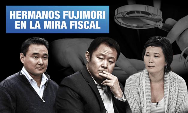 Caso Limasa: Levantarán secreto bancario y tributario de Kenji, Sachi y Hiro Fujimori