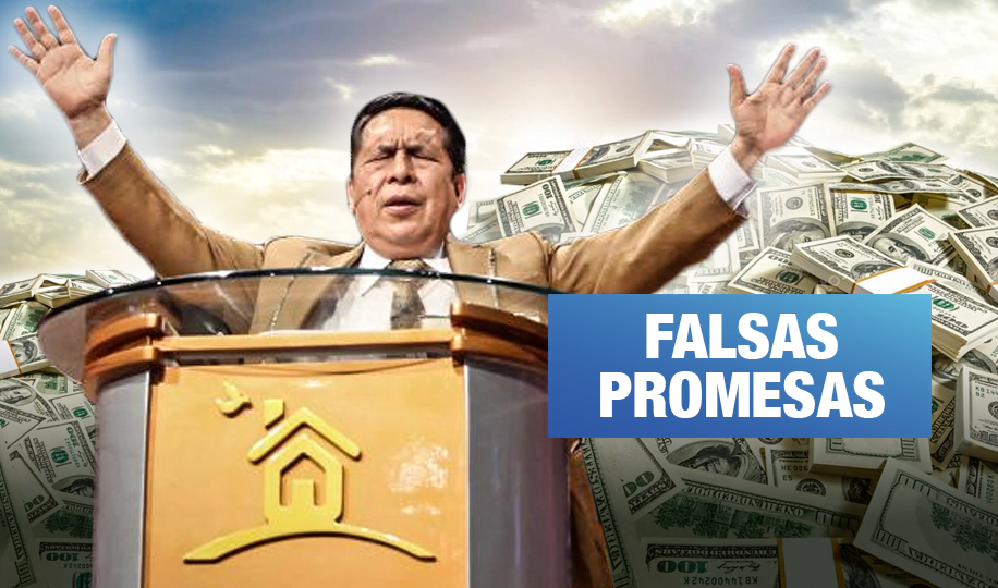#NegociosDeFe | Exfieles denuncian a pastor Santana por estafa de 18 mil dólares
