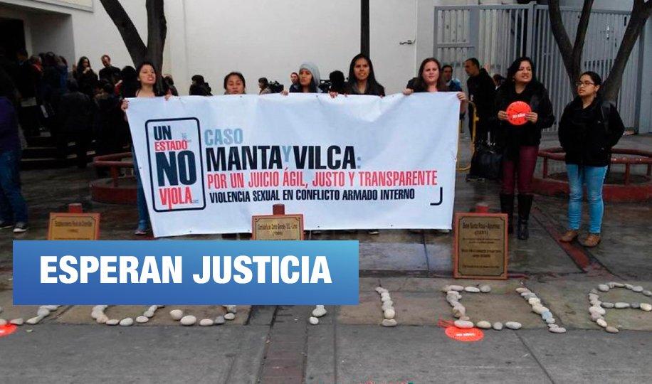 Mañana reinician juicio contra militares por violaciones sexuales en comunidades de Manta y Vilca
