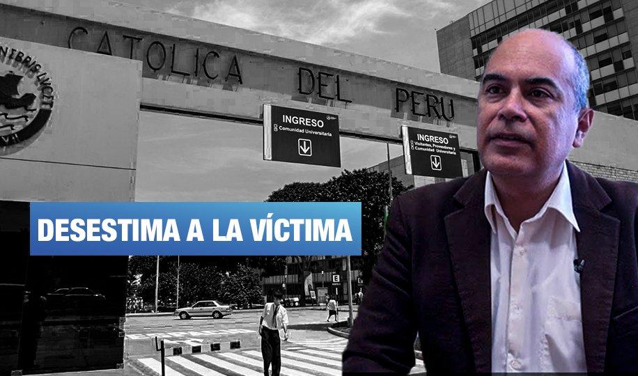 PUCP: Defensor universitario Wilfredo Ardito abogó por el profesor acusado de hostigamiento sexual