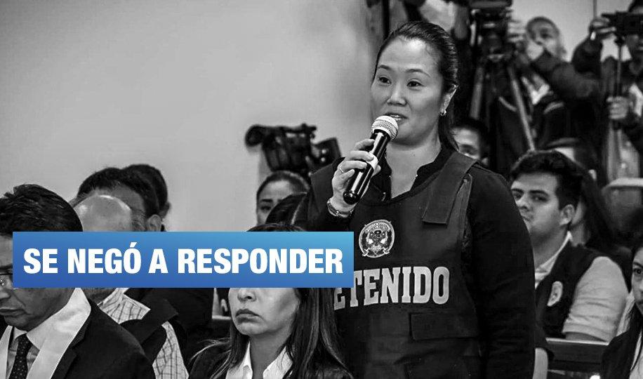 Keiko Fujimori no declaró ante el fiscal Pérez, pero sí por redes sociales
