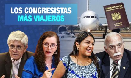 Pasaportes dorados: Los congresistas más viajeros