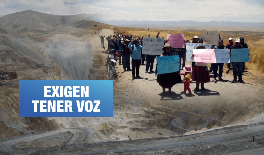 Comunidades de Espinar demandan consulta previa por proyecto de minera Glencore