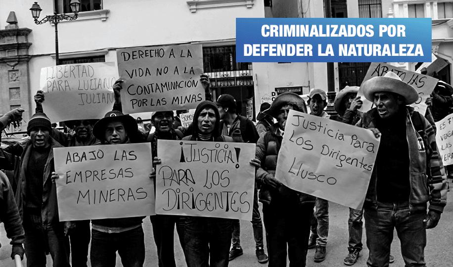 Fiscalía pide 30 años de prisión contra defensores del medioambiente en Chumbivilcas