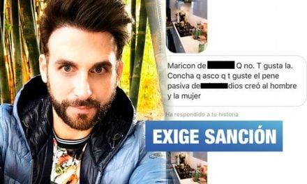 Rodrigo González denuncia a policía por insultos homofóbicos