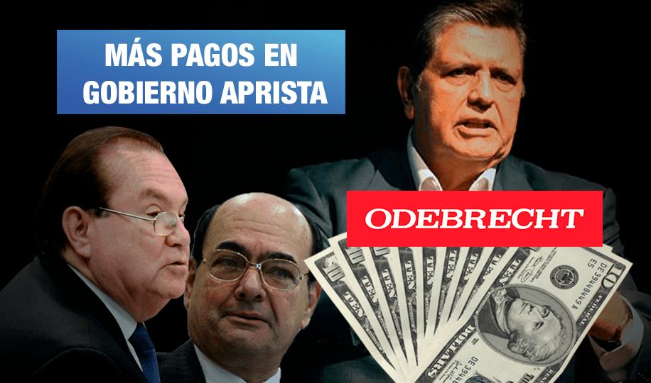 Pagos ilícitos en gobierno de Alan: así se entregaron más de $ 4 millones