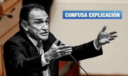 Becerril informa muerte de su asesor y se victimiza por caso 'Los Temerarios del Crimen'