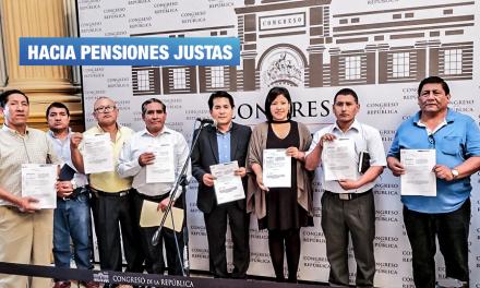 Presentan proyecto de ley para mejorar jubilación de construcción civil