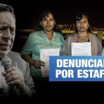 """Dejaron de construir su hogar para construir la """"Casa de Dios"""" del pastor Santana"""