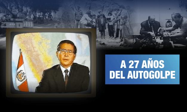 [GRÁFICA] El Perú después del 5 de abril de 1992