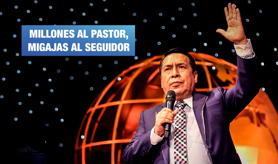 Pastor Santana pagaba menos de S/ 1 a exempleado de El Aposento Alto