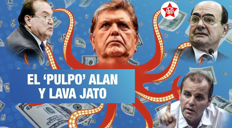 [GRÁFICA] Los tentáculos de Alan García con Odebrecht