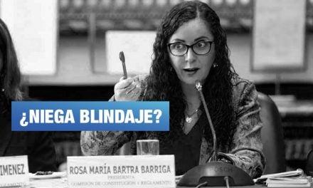 Rosa Bartra justificó la exclusión de Alan García y Luis Nava de Comisión Lava Jato