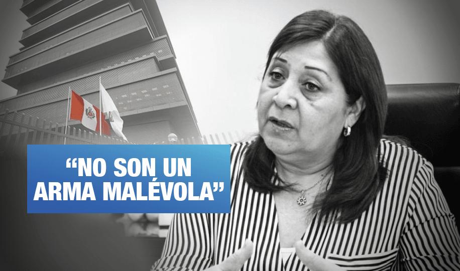 Exviceministra de Gestión Pedagógica Susana Helfer defiende los textos escolares