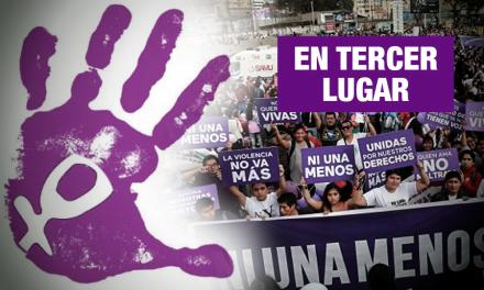 Violencia de género es considerada por el 26% como problema nacional