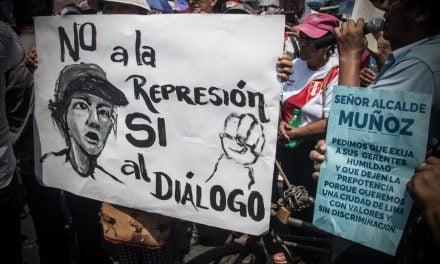 Trabajadores ambulantes apoyan formalización sin desalojos ni criminalización
