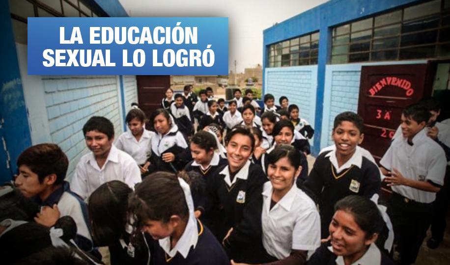 Colegio de San Juan de Miraflores eliminó totalmente su tasa de embarazo adolescente