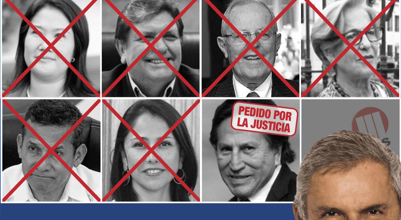 [GRÁFICA] La lista del caso Lava Jato en el Perú