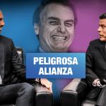 Fujimorista Galarreta y el hijo de Bolsonaro se unen contra enfoque de género