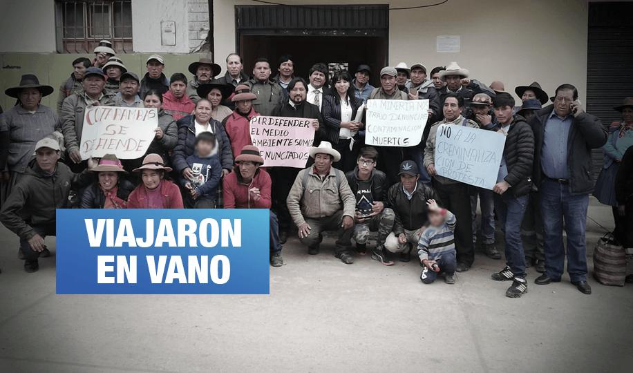 Las Bambas: Fiscalía retrasa juicio contra 19 comuneros por segunda vez