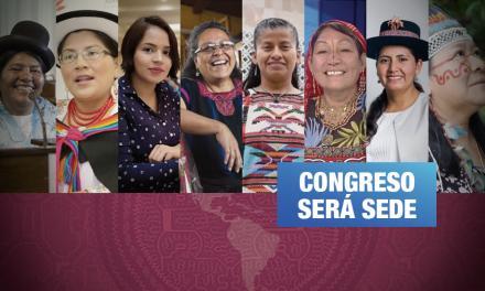 Parlamentarias indígenas de América Latina debatirán sobre las violencias