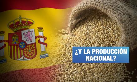 Perú comprará quinua semiprocesada de España para consumo interno