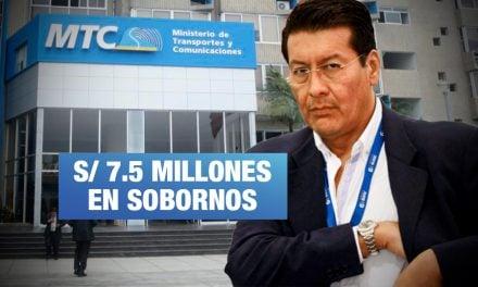 Club de la Construcción: Exministro de Humala habría sido destinatario de coimas