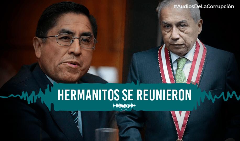 César Hinostroza organizó cena con  Pedro Chávarry y «los amigos de siempre»