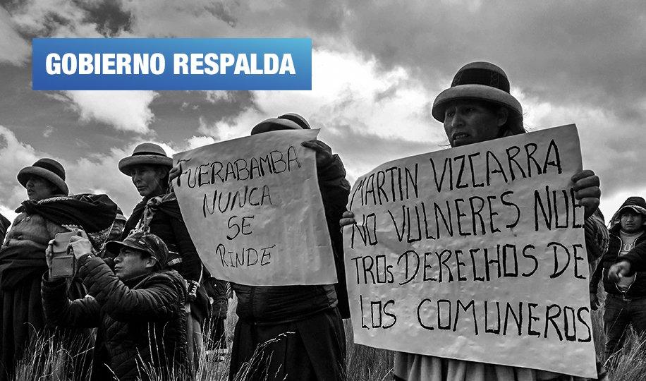 Las Bambas: Minjus respalda amnistía para comuneros procesados