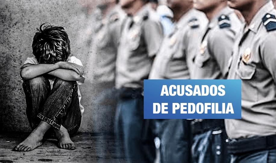 PNP: 8 capitanes son involucrados en red de pornografía infantil